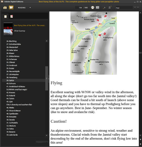 EPUB maps for small screen