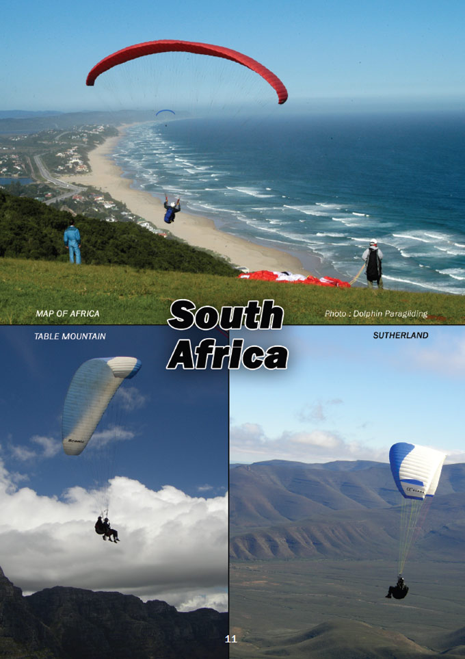 South African paragliding heaven